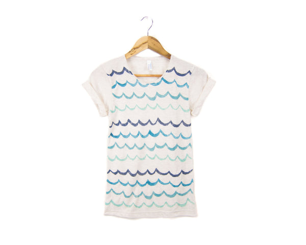 Wave Stripe T-shirt