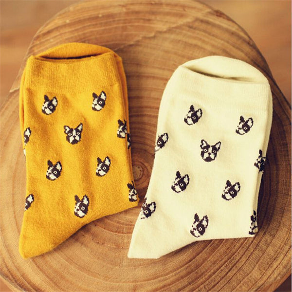 Boston Terrier Fun Socks