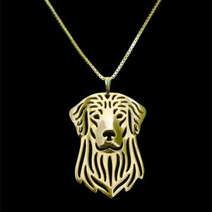 Golden Retriever Forever Necklace