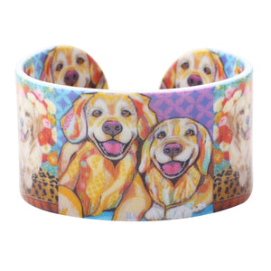 Golden Retriever Fashion Bracelet