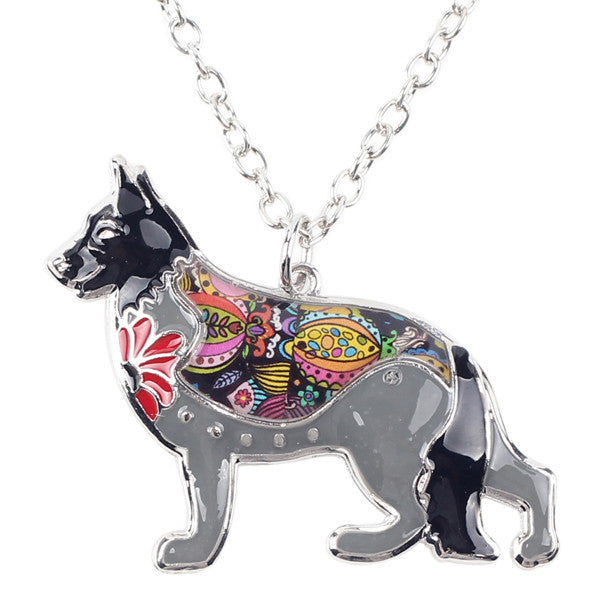 German Shepherd Fever Charm