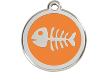 Pet Tags by Red Dingo Fish Bone Design