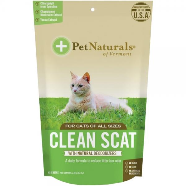 Pet Naturals of Vermont Clean Scat Cat 45ct