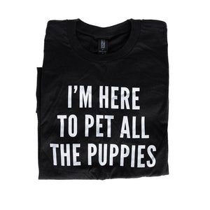 Pet ALL the Puppies shirt