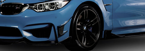 BMW MAD Carbon BMW F8x M3 M4 CF Modular 3-piece Front Lip
