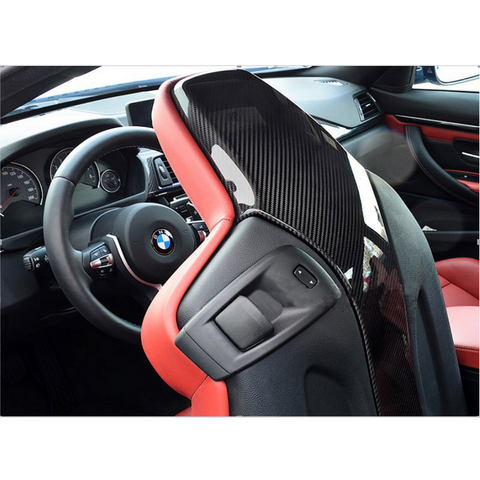 BMW F8x M3/M4 Carbon Fiber 4-piece Rear Seat Covers