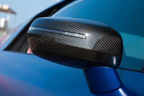 Audi R8 Carbon Fiber OEM Mirror Covers (pair)
