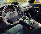 Mazda FD RX7 Carbon Fiber Flat Bottom Steering Wheel