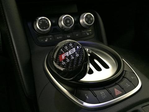 Audi R8 Carbon Fiber Shift Knob for 6MT or Paddle