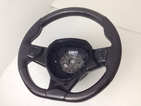 Lamborghini Aventador Carbon Fiber upgraded Premium Steering Wheel