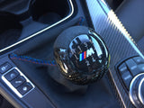 BMW F8x M2/M3/M4 Carbon Fiber Shift Knob + Alcantara Shift Boot