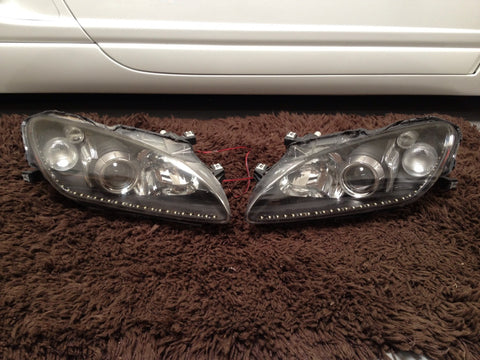 s2000 OEM AP2 headlights housings with clear diffusers