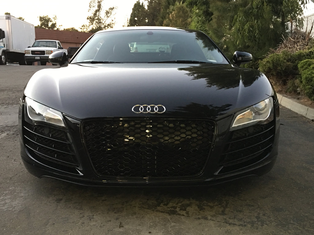 Audi R8 RS style Black Mesh Grill (Front)