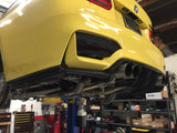BMW KLASS Carbon BMW F8x M3 M4 CF 3-piece Rear Diffuser