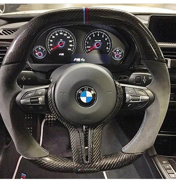 Bmw Carbon Fiber Flat Bottom F8x M2 M3 M4 Steering Wheel