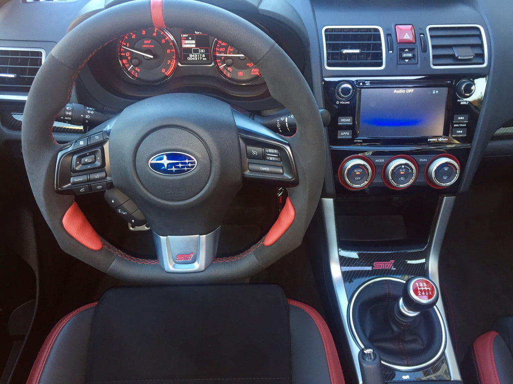 Subaru Wrx Custom >> Subaru Wrx Sti Flat Bottom Custom Steering Wheel