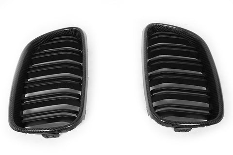 BMW KLASS Carbon BMW M2 CF Front Kidney Grills