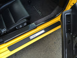 NSX Large Inner Door Sill in Carbon or Custom Leather