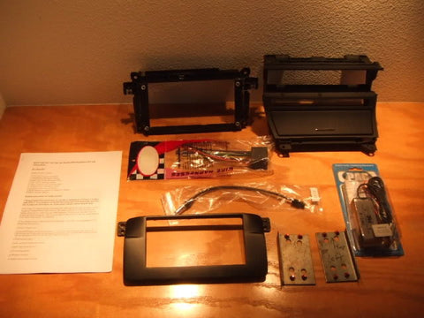 BMW e46 M3 Double DIN Kit (2001-2006)