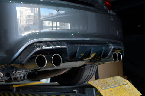 BMW KLASS Carbon BMW F87 M2 CF Rear Diffuser