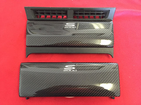 s2000 Carbon Fiber OEM Radio Door Replacement