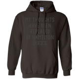 Hamilton Shirt My Thoughts Have Been Replaced By Hamilton Lyrics Hamiltonauto