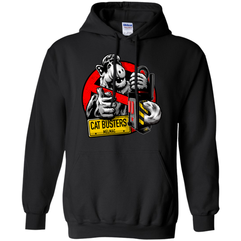 Catbusters Extermination Service Of Melmac Busterauto Hoodie