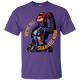 Overwatch Shirt We'Re All Soldiers Now Watchauto