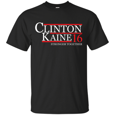 Clinton Kaine 2016 For President T-Shirt Hillaryauto