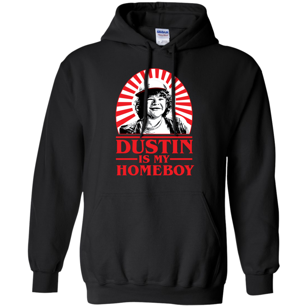 Stranger Things Dustin Is My Homeboy Thingsauto Hoodie