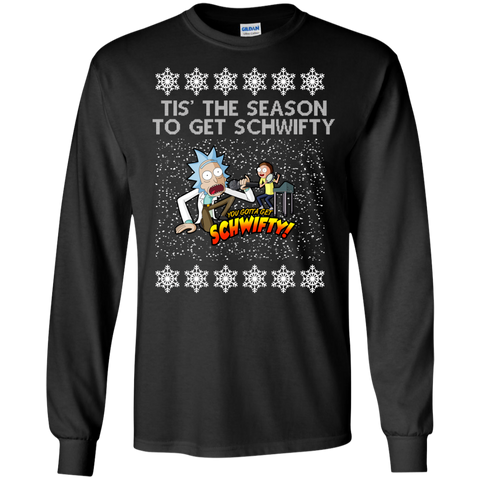 Tis' The Season To Get Schwifty 329 Rickauto Shirt