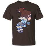 Overwatch Shirt Soft Mei Kiss Watchauto