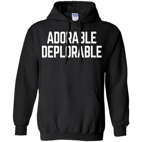 Adorable Deplorable Funny Saying Quote deploauto Hoodie