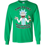 Time To Get Riggity Riggity Wrecked Son Rickauto Shirt