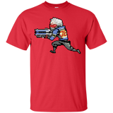 Overwatch Shirt Overwatch - 16-Bit Soldier 76 Watchauto