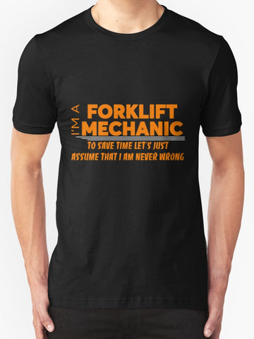 FORKLIFT MECHANIC