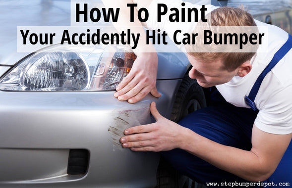 How To Paint Your Accidently Hit Car Bumper?
