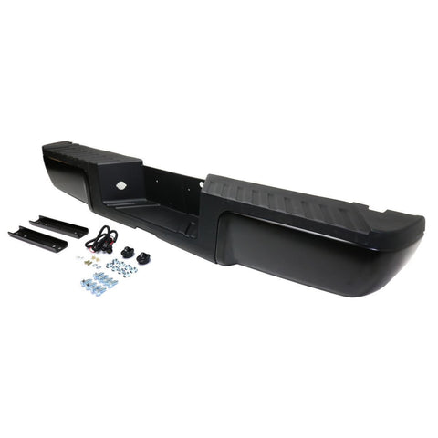 OEM Replacement Rear Bumper (With mounting brackets) for Ford Super Duty