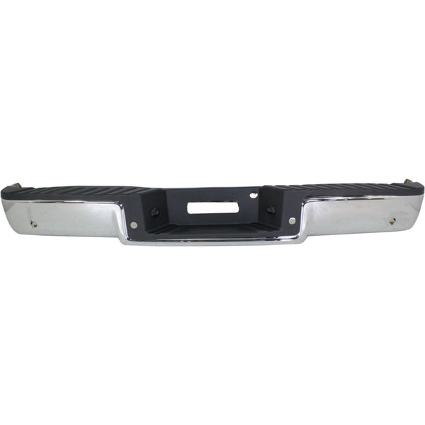 OEM Replacement Rear Bumper (With parking aid sensor holes) for Ford F-150 2005-2008