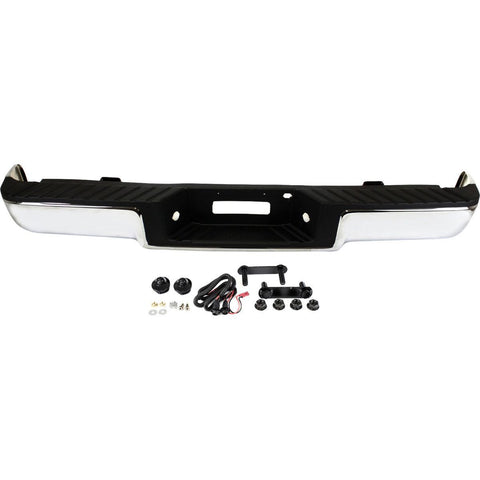 OEM Replacement Rear Bumper (With Accessories ) for Ford F150 Truck F-150