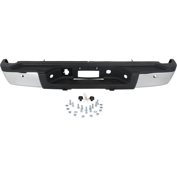 OEM Replacement Rear Bumper (With parking aid sensor holes) for Chevrolet / GMC