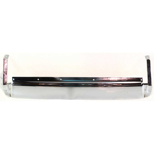 OEM Replacement Rear Step Bumper (With step pad provision) for Mitsubishi Montero