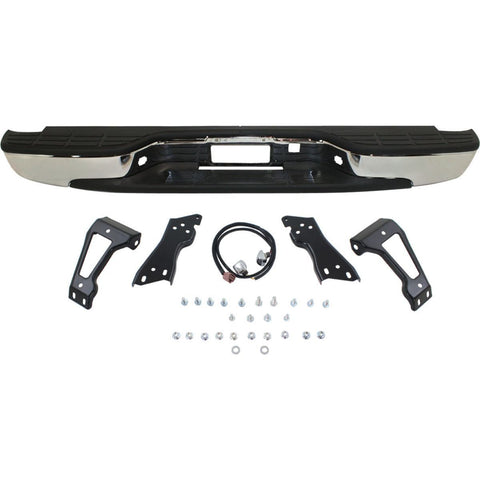 OEM Replacement Rear Bumper  (With Accessories) for GMC Sierra Truck