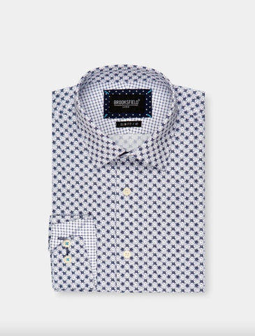 BROOKSFIELD LUXE PRINT SHIRT