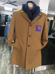 FLAIR | Flair  Camel Plush Overcoat | Browns Big Size Menswear Adelaide