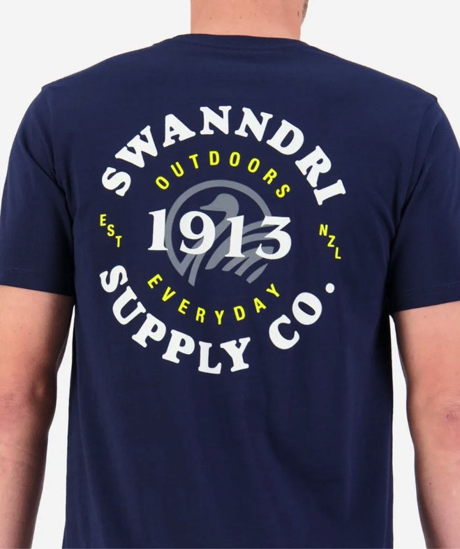 Swanndri Men's Supply Co. Print Tee