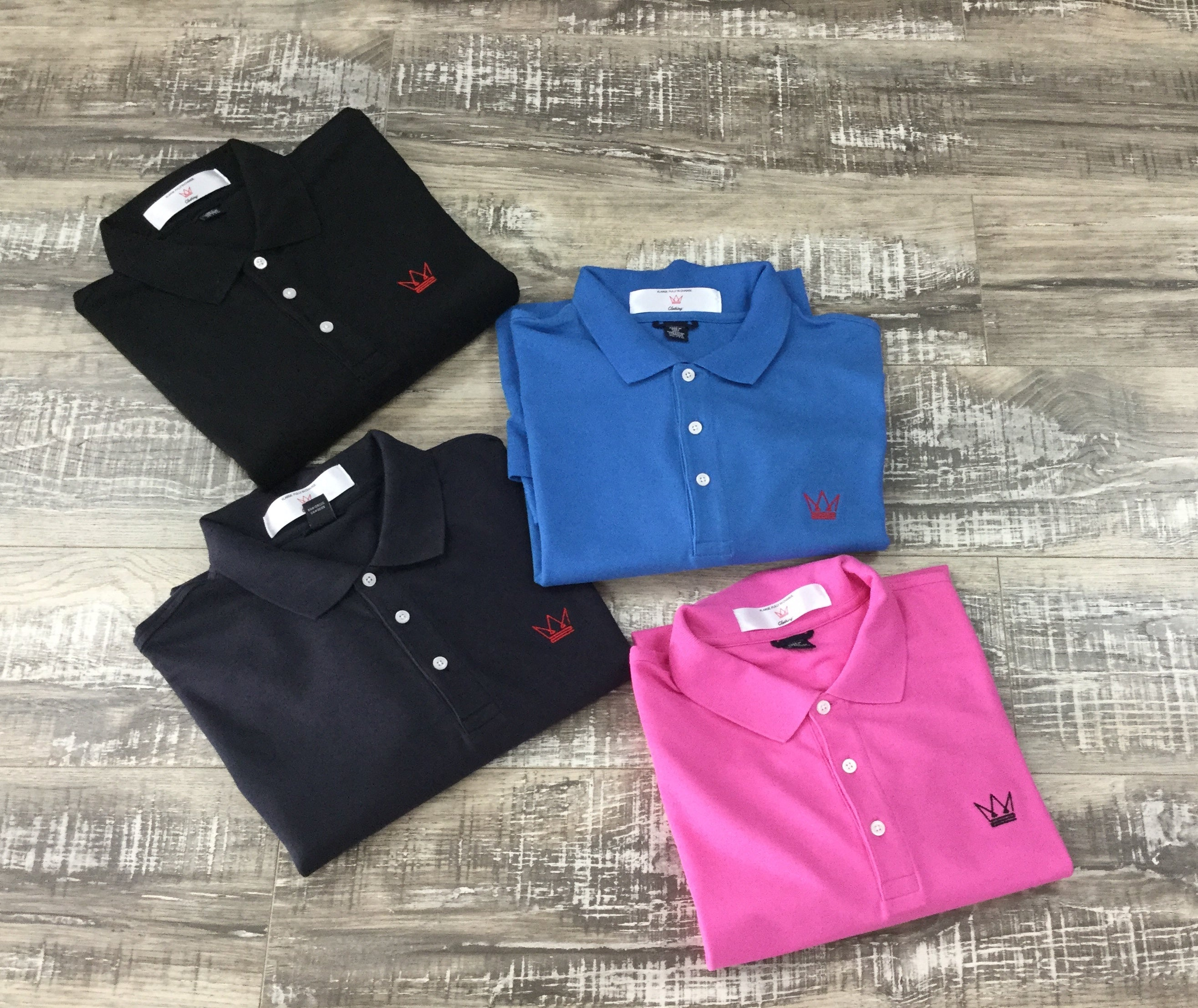 Crown  Cotton Pique Polo