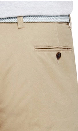 CITY CLUB COTTON STRETCH CHINO SHORTS