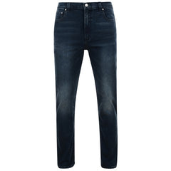 KAM | Kam Aron Regular Fit Stretch Jeans Dark Wash | Browns Big Size Menswear Adelaide