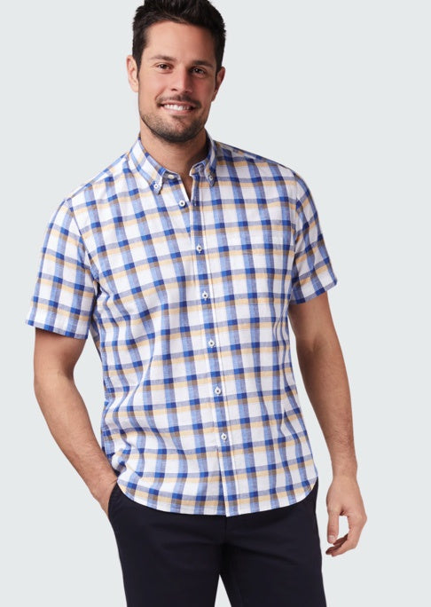 BLAZER CHARLIE SHORT SLEEVE CHECK SHIRT